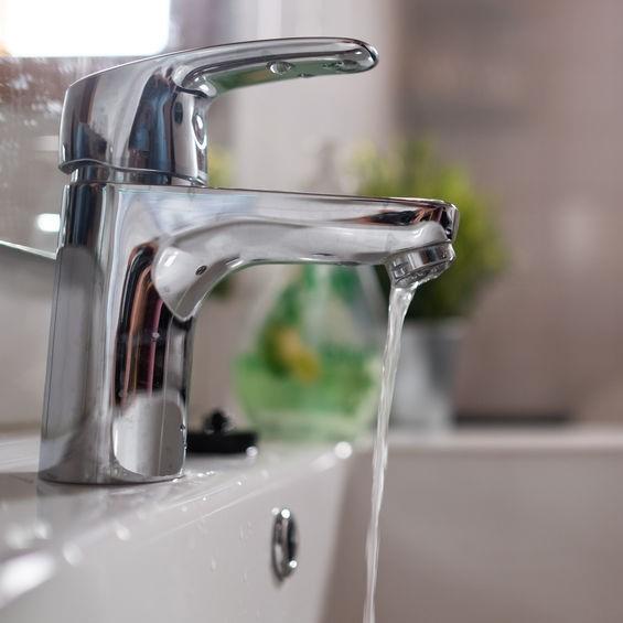 water pressure sink